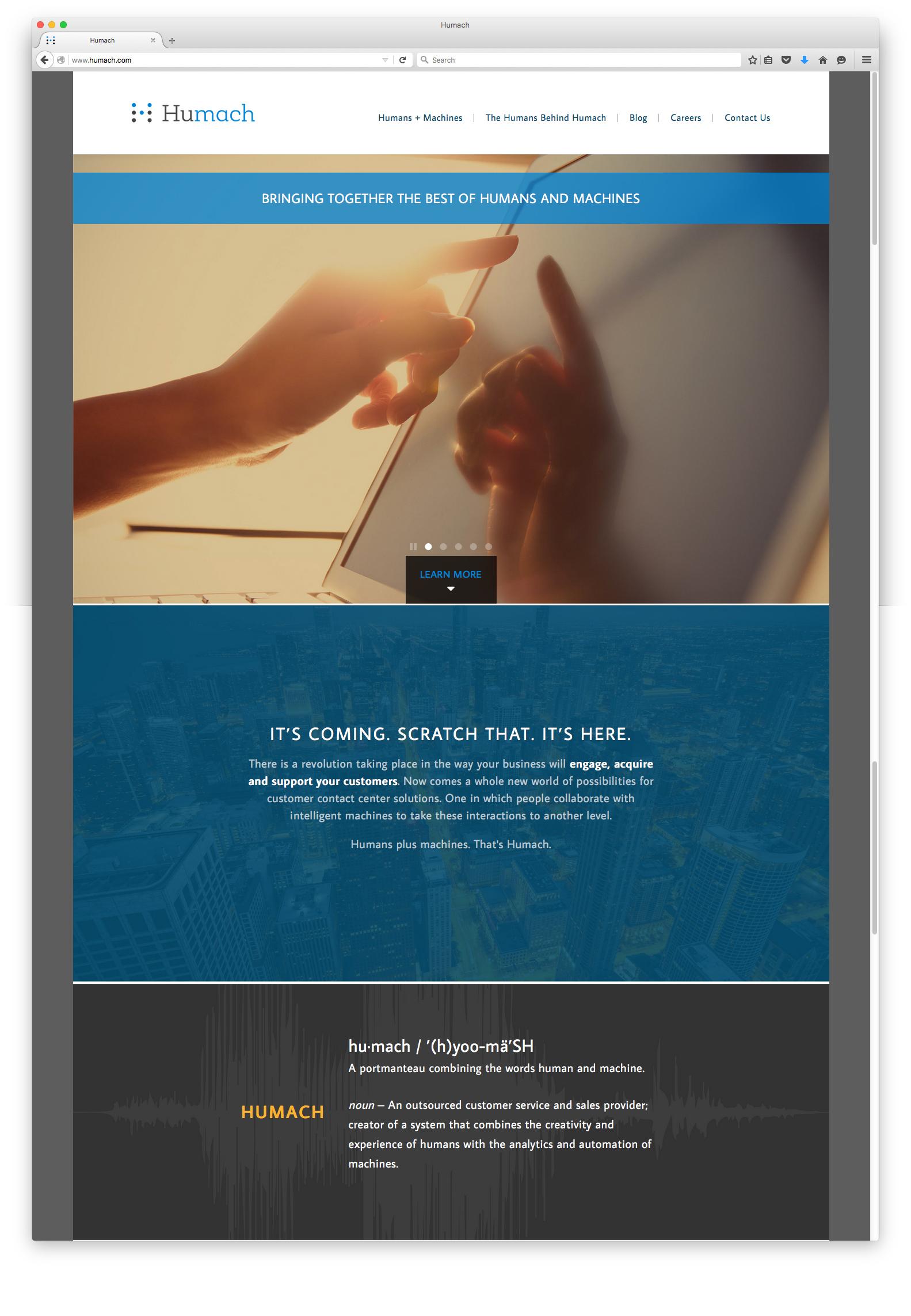 Humach-Homepage